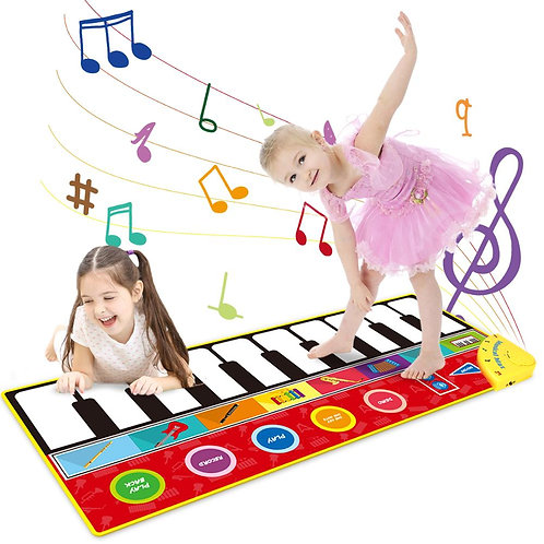 Large Size Musical Piano Mat Baby Play Keyboard Toy Educational for Kids