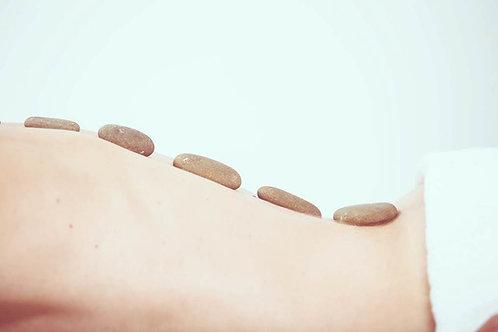 Hot Stone Massage £155  + £25 Guild Membership)