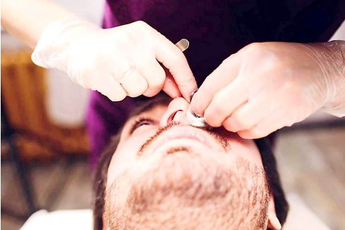 Online Male Facial Waxing & Threading £45
