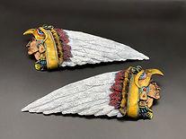 Aztec Warrior Tank Emblems