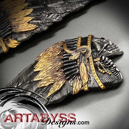 #103 Royal Black & Gold