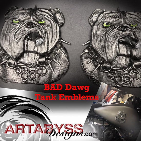 Bad Dawg Emblem (sold individually)