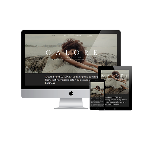 Beauty In Galore Template