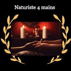 Massage naturiste 4 mains