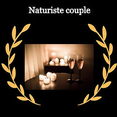 Massage naturiste couple