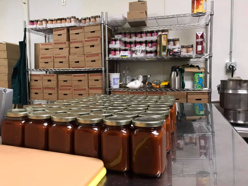 Bottles in production