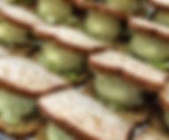Moshe's Foods Eggless Salad Sandwich
