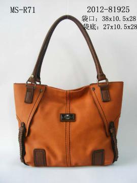 Leather shoulder bag - 01
