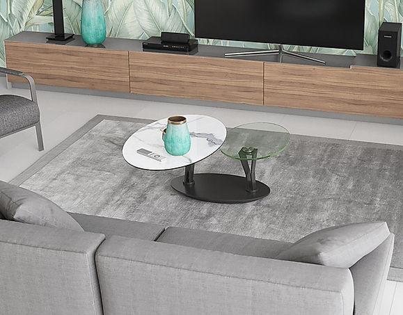 table basse ovalia ovale _catherine_rose