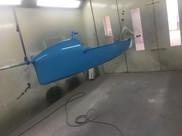 Moth hull re spray