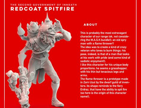 Redcoat Spitfire