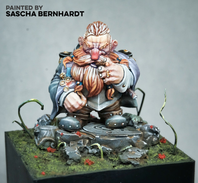Great Master Godric by Sascha Bernhardt