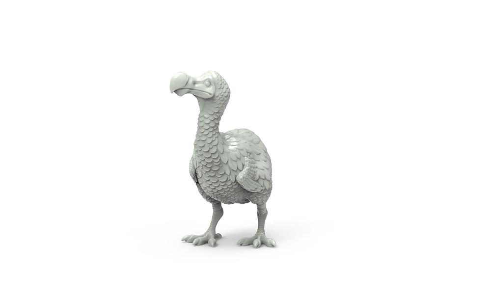 dodo 3d sculpt