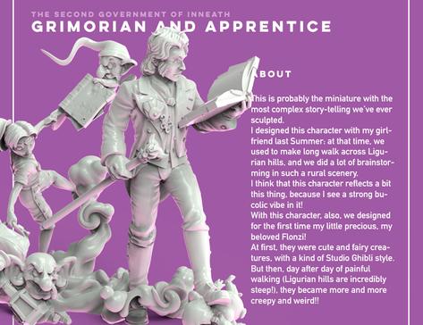 Grimorian and Apprentice