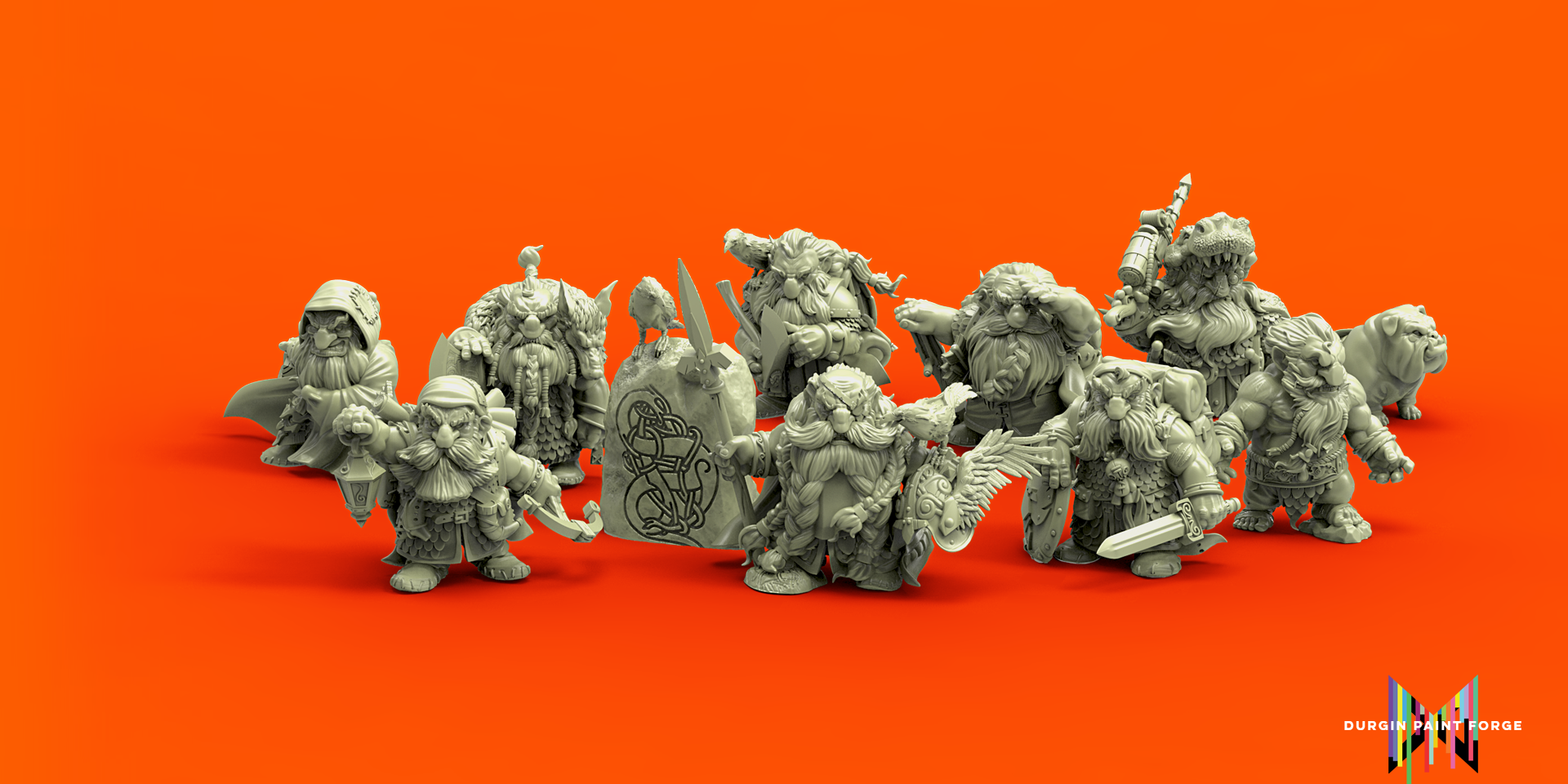 The Iron Crows, and other dwarves of Kazhul Izril (desktop)