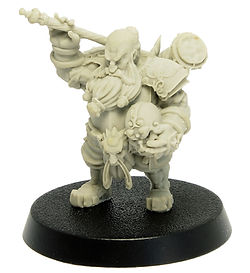 The Goiko Warrior, first miniature released by Durgin Paint Forge