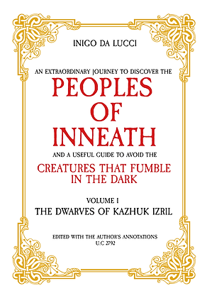 Peoples of Inneath - Volume I -