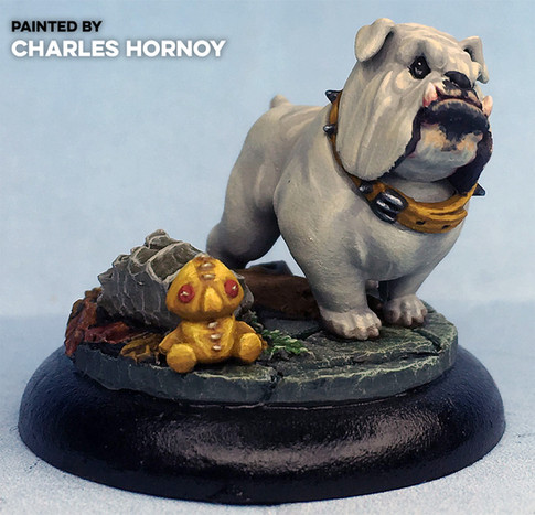 Rogal the Angry Bulldog by Charles Hornoy