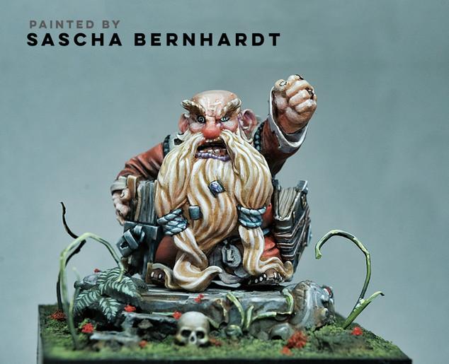 Guardian of the Path by Sascha Bernhardt