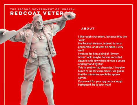 Redcoat Veteran