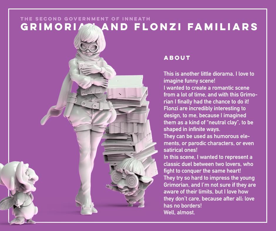 Grimorian and Flonzi familiars