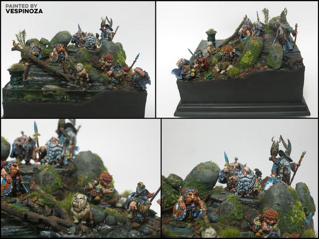 Dwarf Adventurers by Vespinoza