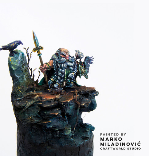 Great Master Sigurd by Marko Miladinović