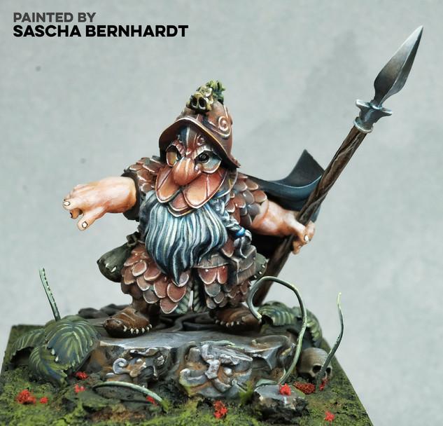 Iron Warrior by Sascha Bernhardt