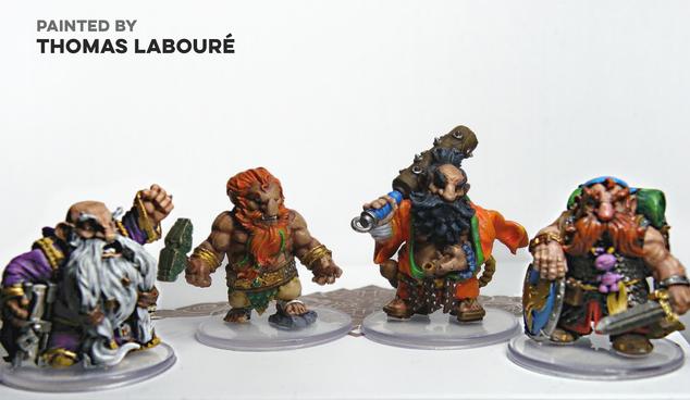 Dwarf Crew by Thomas Labouré