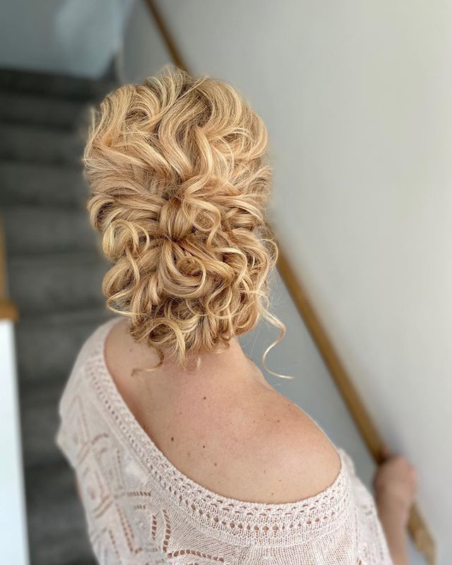 for the 'relaxed updo' bride ✨