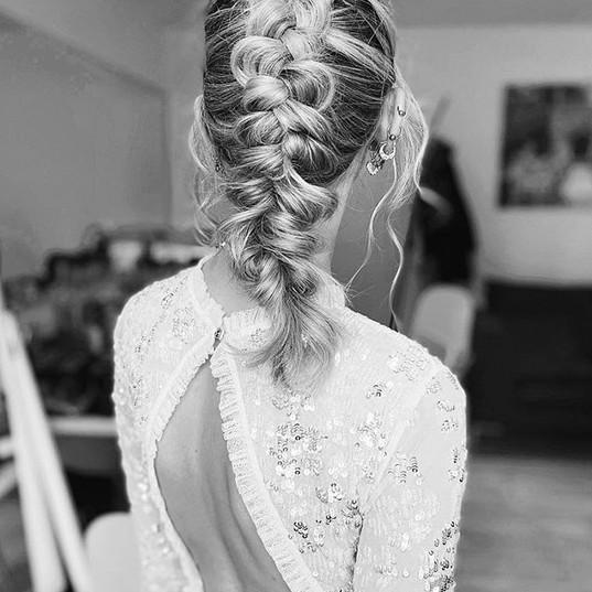 bridal braidin' ✨ . Was so much fun crea