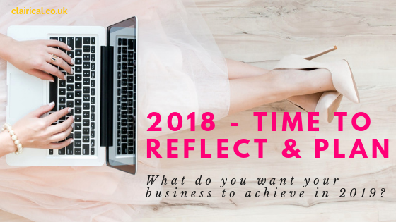 Reflect and plan for 2019