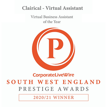 picture of award I've won with Corporate Live Wire