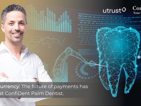 Cryptocurrency: The future of payments has arrived at ConfiDent Palm Dentist