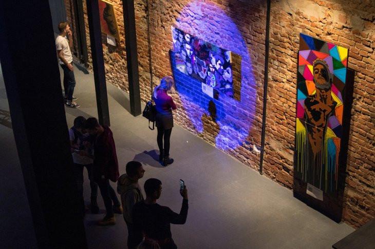 Alef, выставка, картины