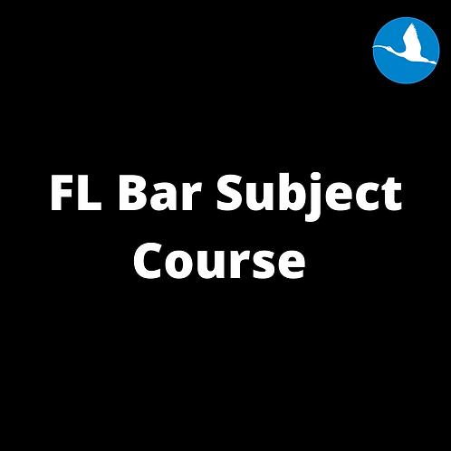 FL Bar Subject Course