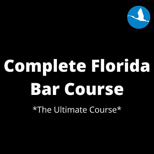 Complete Florida Bar Prep Course