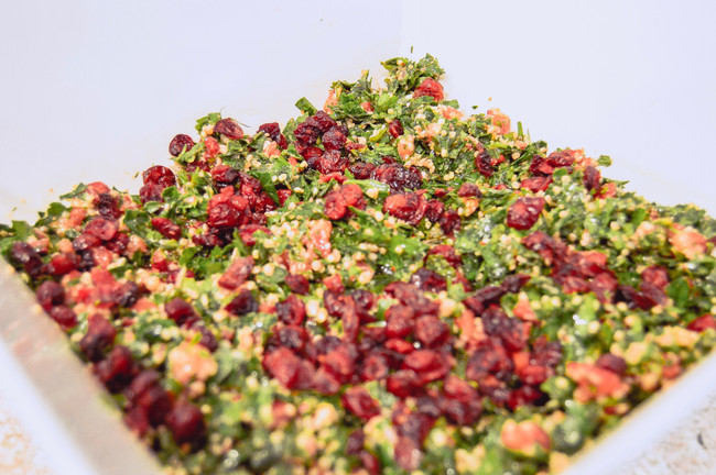 FRUITY TABBOULEH SALAD WITH QUINOA