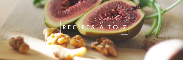 recipes a to z page