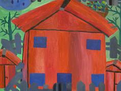 Det röda huset ute, 2008