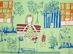 Flickan på röda bänken, 2009