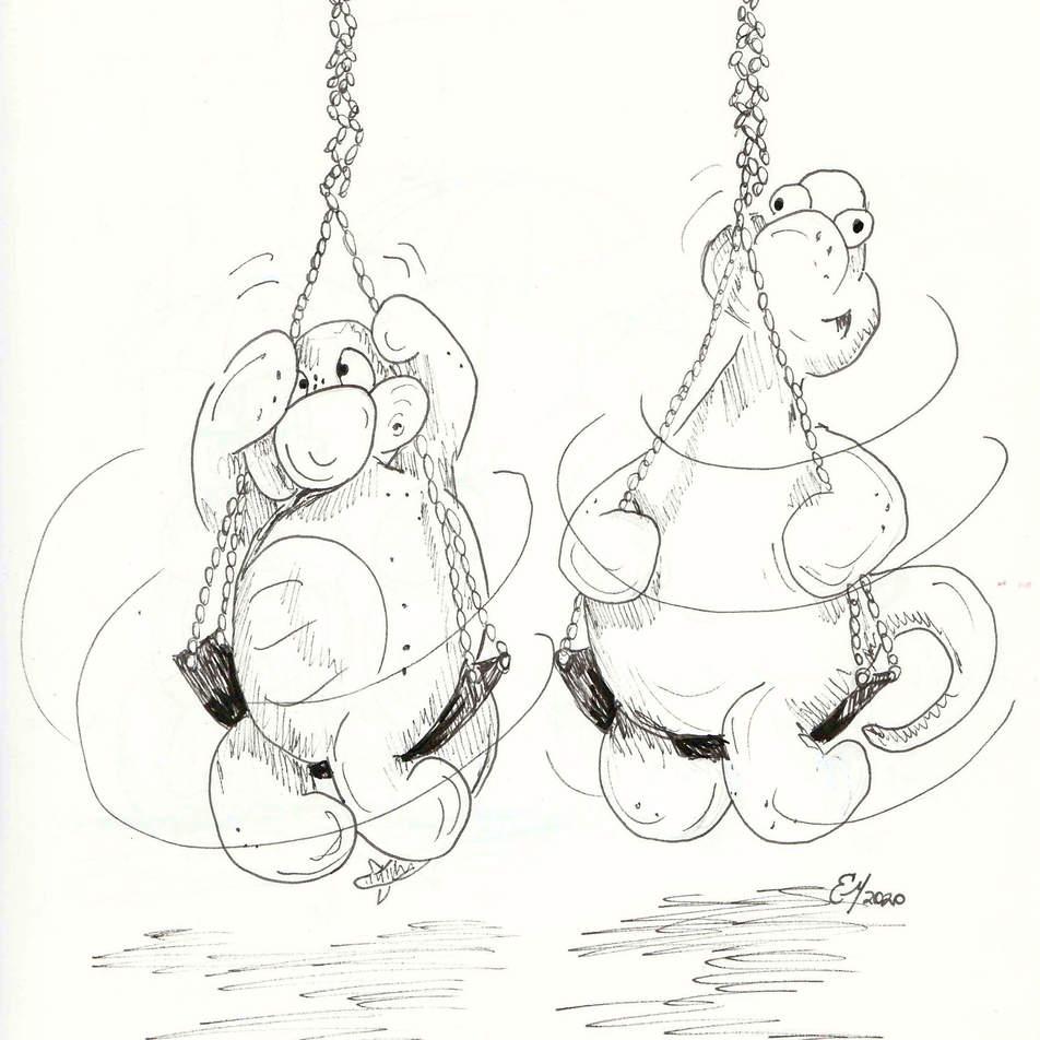 Stretch & Eggy - Dizzy