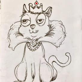 Fancy initial sketch
