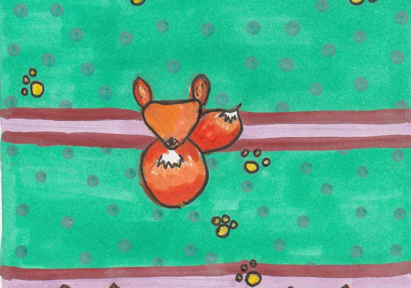 Fox Pattern - Paisley Toad Studio