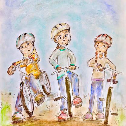 Under the Angel Tree: Bike Bullies