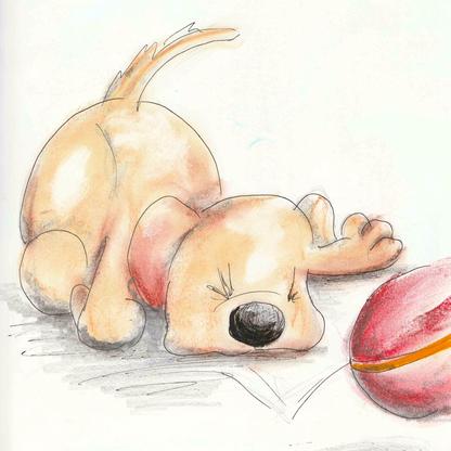 Under The Angel Tree: Eileen Finds a Puppy