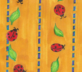 Lady Bug Pattern - Paisley Toad Studio