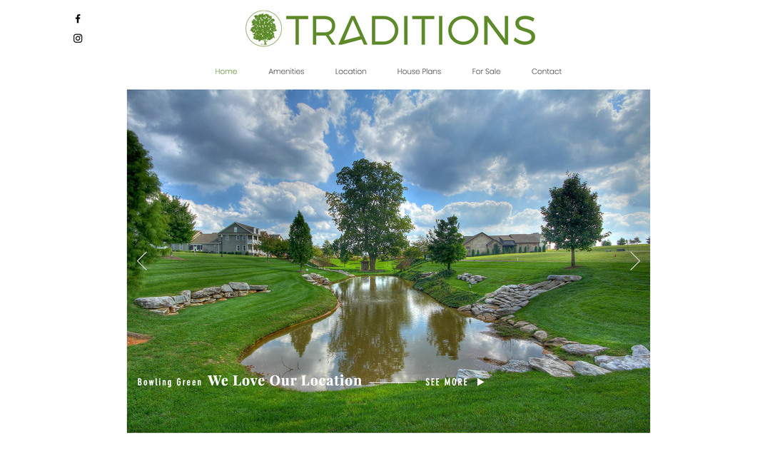 Traditions Website