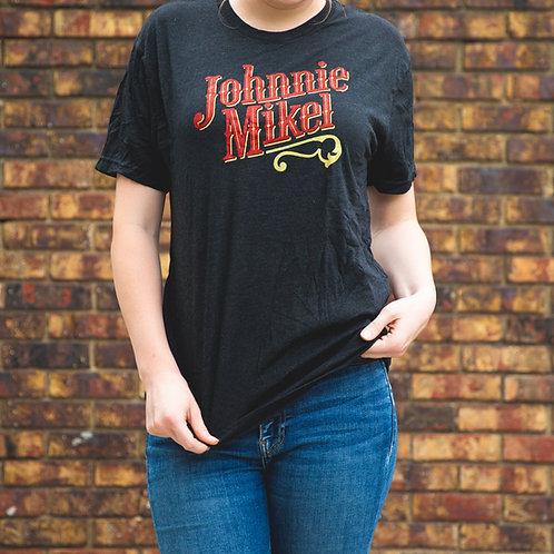 Vintage Johnnie Mikel T-Shirt - Black/Red