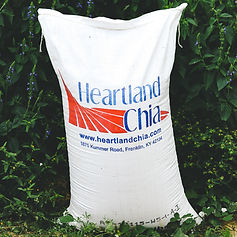 Heartland Chia 50 lbs. Poly Bag